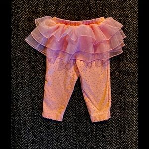 4 for $20 Carters tights with tutu attache…
